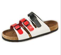 Birkenstock sandals summer shoes couple models male cork sandals Roman style sandals beach sandals trend