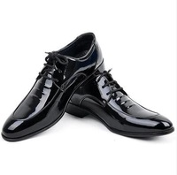 New men's fashion tip shoes / Business breathable work shoes / fashion men's leather shoes / free shipping