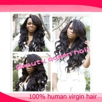 Popular lace front human hair wigs & u part wig human hair in stock free shipping