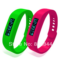2014 New Household Health Monitors Healthy Bracelet Silicone Wristband Smart Hand Ring Bluetooth sleeping fitness pedometer