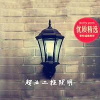 Fashion rustic outdoor lights waterproof wall lamp courtyard villa lamp squid hexagonal wall lamp  good design