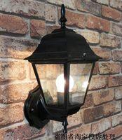 Waterproof outdoor wall lamp courtyard fashion balcony lights modern brief lamp outdoor street lamp  fashion style