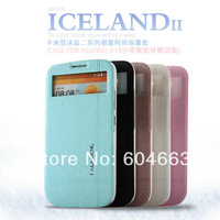 Free shipping Original Kalaideng Iceland series Flip Leather case for Huawei B199 slim flip cover +retail box