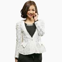 Free shipping New 2012 all-match lace flower net cape wedding short jacket 608