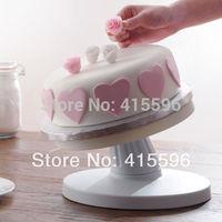 UK Brand Adjustable Decorating Base Turntable Cake Swivel Plate Tilt Turntable / Events Cake Turntable + Free Shipping