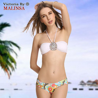 New 2014 Hot Women Mini bikini set Fashion turquoise sexy swimwear Europe Style striped vintage brand swimsuit 8800