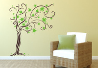 Unique Dream Tree Flower Removable Wall Art Decal Mural Wall Home Sticker Home Decor