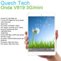 3G Tablet Phone Onda V819 3G mini 7.9 Inch MTK8389 Quad Core 1GB DDR3 RAM 16GB Nand Flash Android 4.2 OS IPS Russian Super Thin