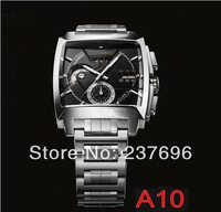 Hot Sell ! Calibre 12 LS CAL2110.FC6257 Men's black dial stainless stee automatic movement Men's watches wristwatch