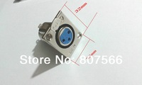 20 PCS metal XLR 3-Pin Female Chassis Panel Mounted Socket Connector