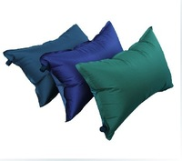 New Multifunction Light Elasticity PVC Cushion Automatic Inflation Pillow /rectangular adult pillows free shipping