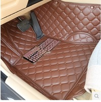 Free shipping for 2013 KIA K3 special floor mats wear-resisting waterproof carpets 2012 KIA K3 non-slip carpets