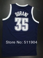 Sale Promotion+Free shipping Cheap DARK BLUE 35 Kevin Durant  New Meterial  Basketball Jersey high quality