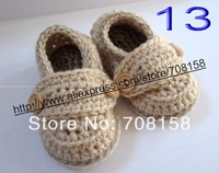 free shipping, Baby Toddler Crochet Knit Prewalker Socks Crib Shoes Handmade 0-12m custom-made 200pair