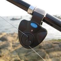 3PCS Yolo Electronic LED fish alarm Fishing rod Bell Alarm Sound Buzzer  Light Clip fishing tackle free shipping