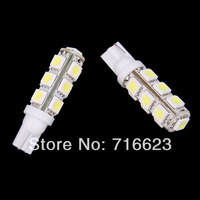 8X T10 194 168 192 W5W 13 SMD 5050 led Car reading door Light Automobile Instrument Lamp Wedge Interior clearance Bulbs