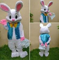 2014 new PROFESSIONAL EASTER BUNNY MASCOT COSTUME Bugs Rabbit Hare Adult Fancy Dress Cartoon Suit Fancy Dress