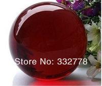 38MM Quartz Red Magic Crystal Healing Ball Sphere