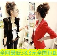 2014 blazer suit female outerwear spring female suit casual slim medium-long women's