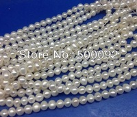 wholesale 4-5mm white freshwater pearl strands