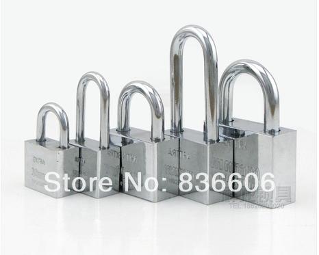 Cut in the minimum through the lock and unlock small padlock series lock one lock open padlock locks(China (Mainland))