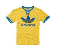 Wholesale brand Men T-Shirts,man tshirts, round neck T shirts, fashion O-neck t shirt free china post shipping