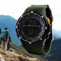 0989 male anti-rattle multifunctional sports watch waterproof hiking running electronic watch army Wristwatches