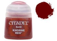 Gw paint citadel base 21 - 04 khorne red
