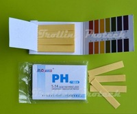 50Pack/LOT 80 pH Meters Indicator Test Strips 1-14 Paper Litmus Tester Urine & Saliva