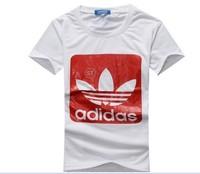 Mens T Shirts Fashion 2014: Fashion Brand Short Sleeve Slim Fit Korean Style Men's Tshirts with Love Printed, The Trendy One!