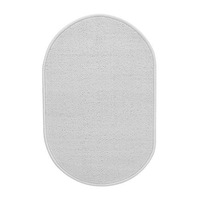 1 piece 100% polypropylene white color bath mat