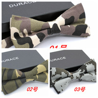 Fashion Army Green Camouflage bow tie preppy style blackish green bow tie free shipping 10pcs/lot #1655