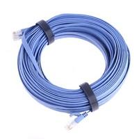 RJ45 CAT6a Cat6 Flat Ethernet Patch Network Lan Cable 25m