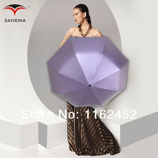 2014 new free shipping Creative Oil Painting star Umbrella Folding and Automatic umbrella Anti-uv sun umbrellas(China (Mainland))