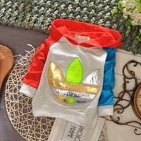 Shipping free!NEW! 2014 spring male child fashion color block decoration child hoody sportswear 100% basic cotton shirt t-shirt