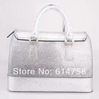 2014 Hot New Arrived  high quality cnady bag  women's PVC  jelly handbags fashion beautiful bag/wholesale