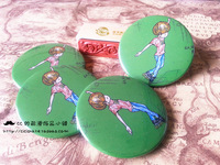 Cc roller hot-selling big roller skates cartoons series badge , 2014 Hot Selling FSK skating Brooch Pin