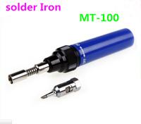 Free shipping by DHL ! 50pcs /lot Gas Blow Torch Soldering Solder Iron Gun Butane Cordless Pen Burner MT-100 Tool