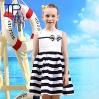 2014 latest design girl dresses,cute bow princess baby dress,summer children clothing(GG-402S3)