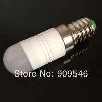 Energy saving lamp 220v~240v ac warm or white ceramic lamp 2w E14 led beads mini led x10PCS/LOT