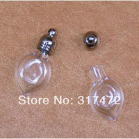 Free mail!!!!    Glass Tear urn bottle vial pendant Loved ones ashes