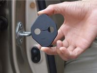 Car Door lock decoration protective cover Fit For RAV4 2013 4pcs per set(BT01)