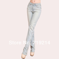 New Casual Fashion Custom Jeans Straight  Women's Exclusive Loose wide leg Jeans Custom Made Jeans Girl's Custom Pants DW-010