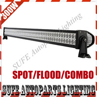FREE DHL SHIPPING 50 INCH 300W LED LIGHT BAR WORK LIGHT BAR LED DRIVING LIGHT FOR OFFROAD ATV SUV 4x4 TRUCK BOAT TRACTOR MARINE