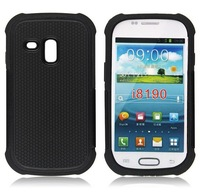 Armor Heavy Duty Hard Cover Case For Samsung Galaxy S3 III Mini i8190 SILICONE Protective SKIN