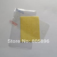 WHOLESALE 1000pcs 3 layer Clear Front Screen Protector for iphone 4 4S with cleaning cloth