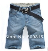2014 summer thin jeans shorts Bull-puncher knickers men jeans plus-size denim shorts men's pants Size:31-46,free shipping