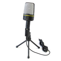 3.5mm Studio Microphone Stand Speech for Laptop Notebook PC Computer