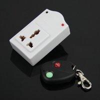 AC 220V 500W Wireless IR Remote Control AC Plug Switch Outlet Socket