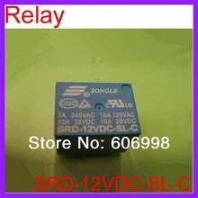 10pcs lot SRD 12VDC SL C Relay